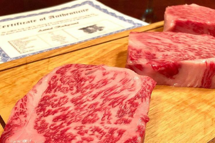 Zoes Wagyu meat